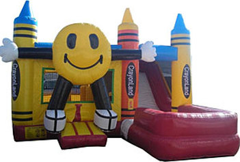 Crayola Land Jumper & Water Slide