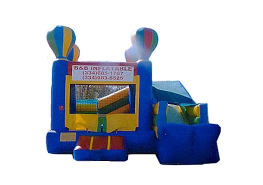 Hot Air Jumper & Slide Combo