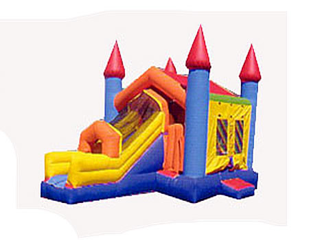 Castle Jump and Slide